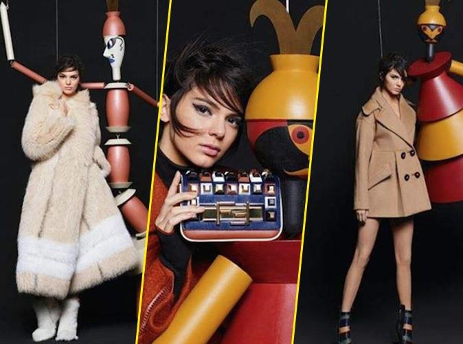 Photos : Kendall Jenner : super model vintage pour la nouvelle campagne Fendi !