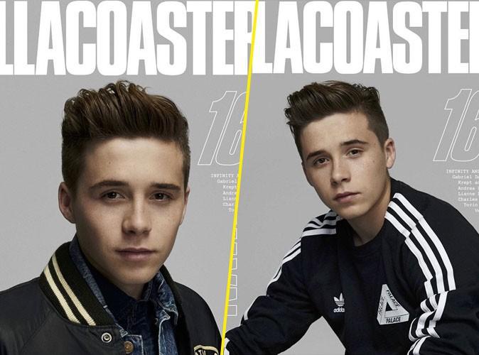 Photos : L'enfant déjà star, Brooklyn Beckham fait la une d'un nouveau magazine !