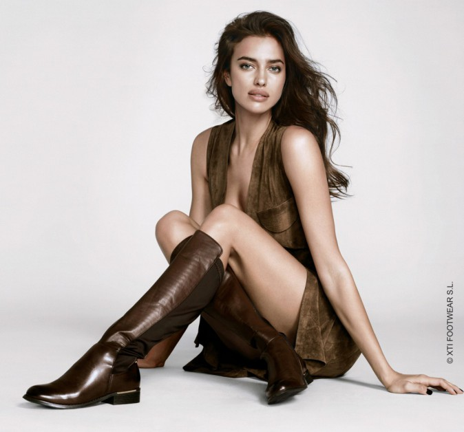 Irina Shayk pose pour XTI
