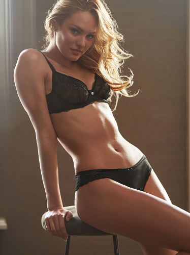 Candice Swanepoel pour Victoria's Secret