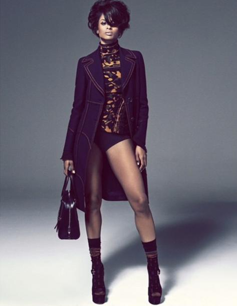 La chanteuse américaine Ciara, une vraie diva pour L'Officiel !