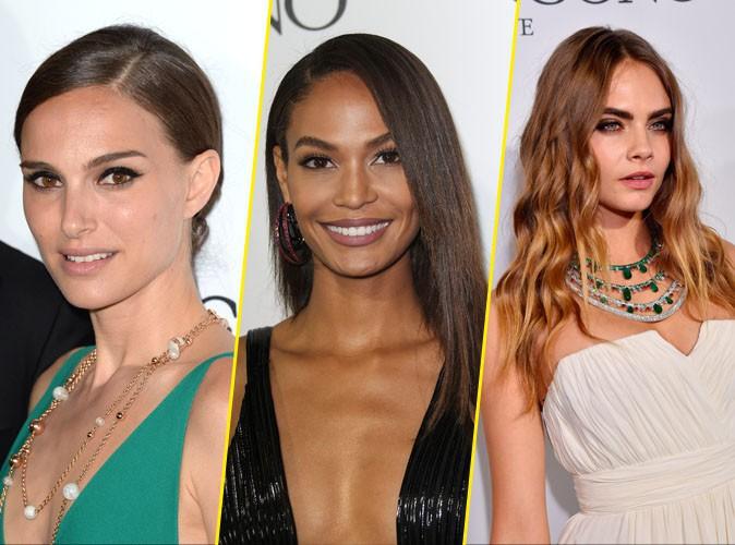 Les plus beaux beauty look de la soirée de Grisogono : Natalie Portman, Joan Smalls, Cara Delevingne