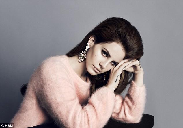 Lana Del Rey pour H&M... Automne-Hiver 2012/2013 !
