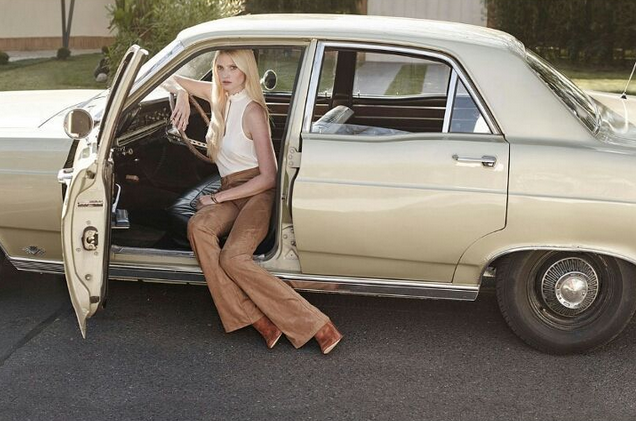 Lara Stone pour H&M