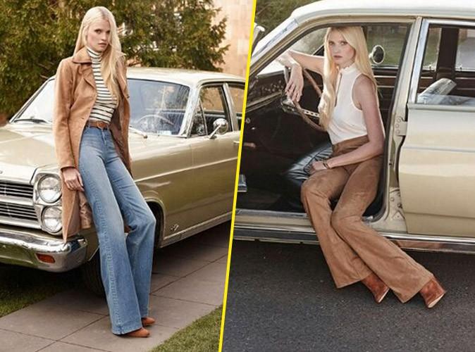 Photos : Lara Stone, une beauté seventies pour la nouvelle campagne H&M !