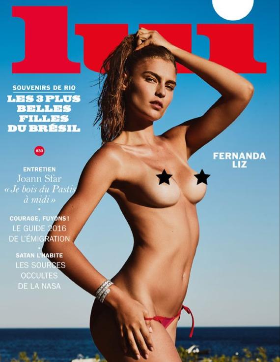 Photos : Le magazine Lui déshabille des bombes brésiliennes pour la rentrée !