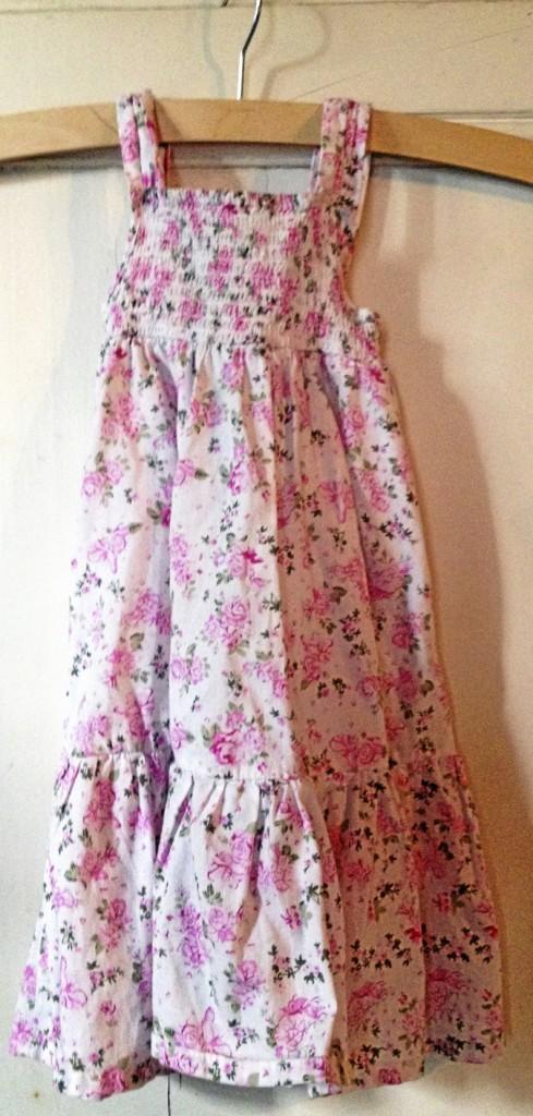 Robe fleurie rose, Monoprix 22 €