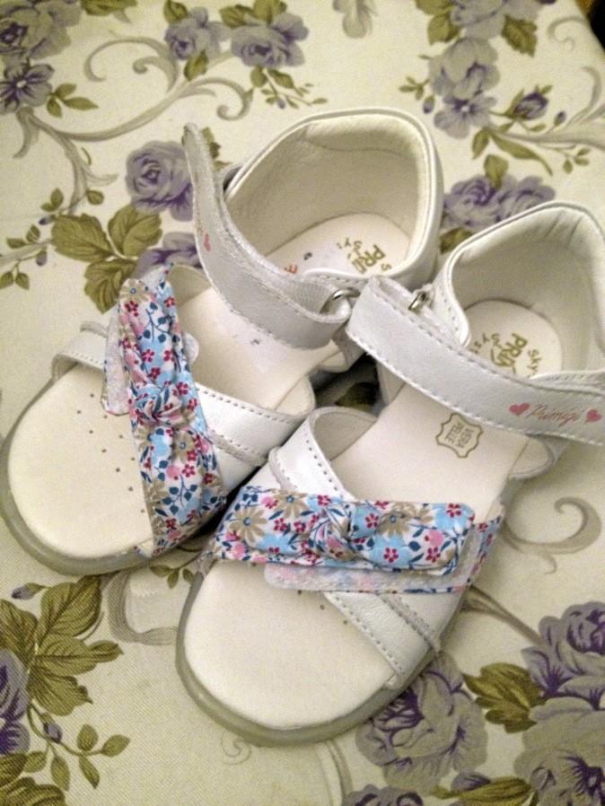 Sandales avec noeuds en coton, Liberty Primigi 22 €