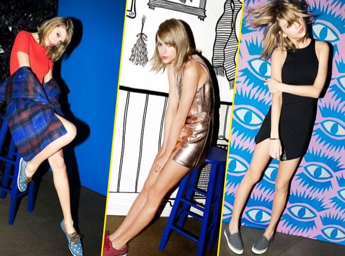 "Photos : Les baskets Keds lance ""Ladies First"" avec Taylor Swift !"