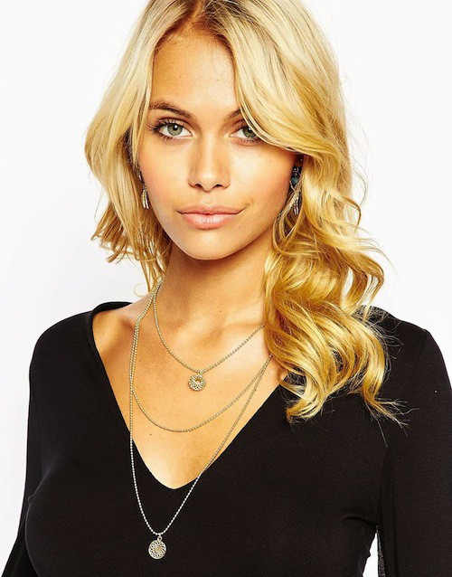 Collier multirang style 70', 13,99€