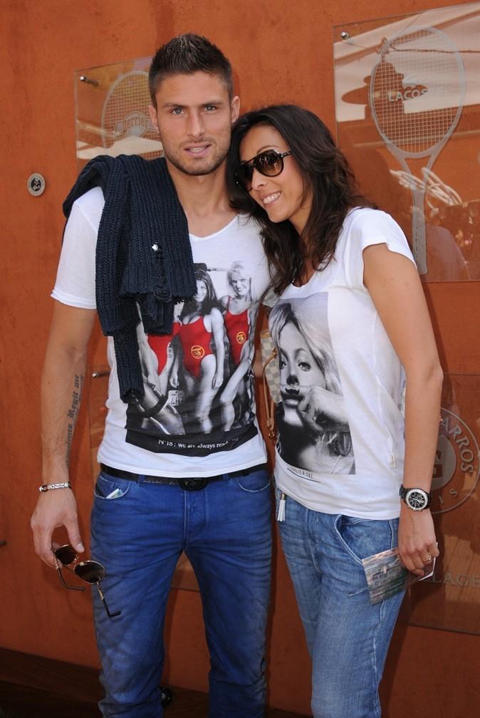 Olivier Giroud et sa femme !
