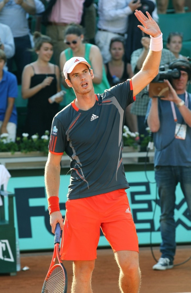 Andy Murray sur le court !