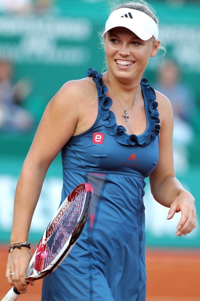 Caroline Wosniacki : le sourire aux lèvres !