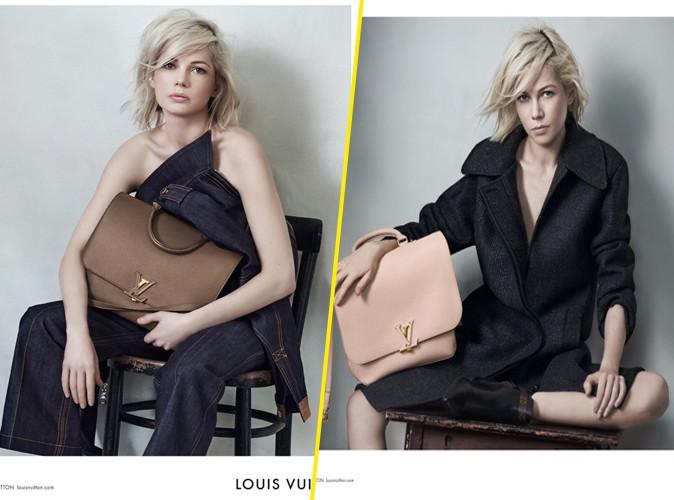 Les nouvelles photos glamours de Michelle Williams pour Louis Vuitton