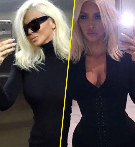 Jelena Karleuša et Kim Kardashian