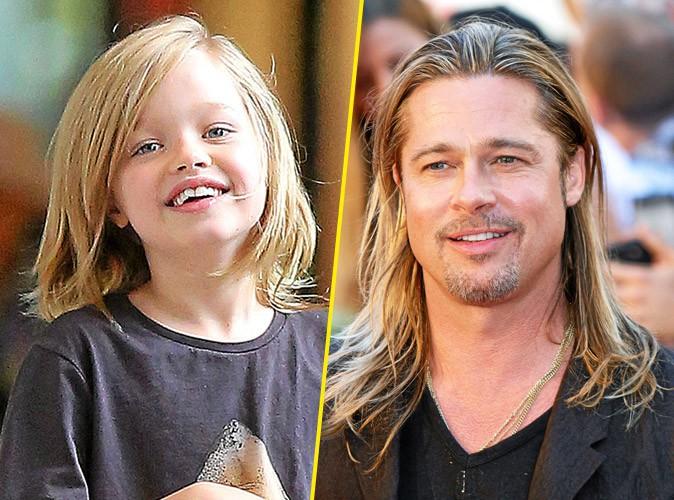 Brad Pitt & Shiloh : son garçon manqué