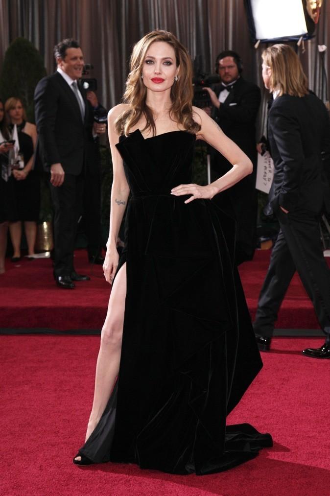 Angelina Jolie, c'est bien le cas de le dire...