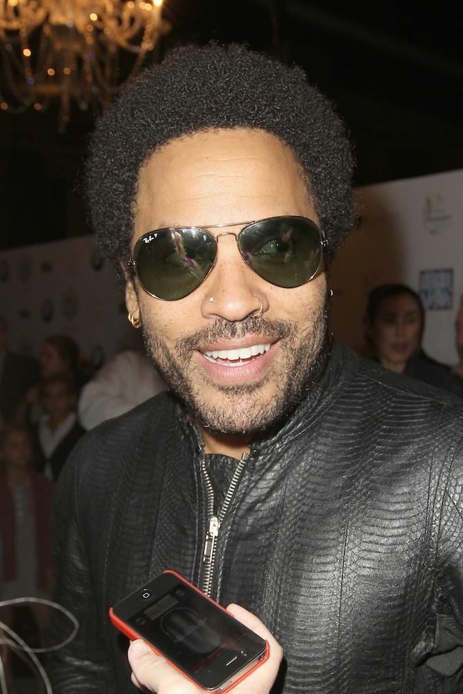 Lenny Kravitz et ses piercings au nez