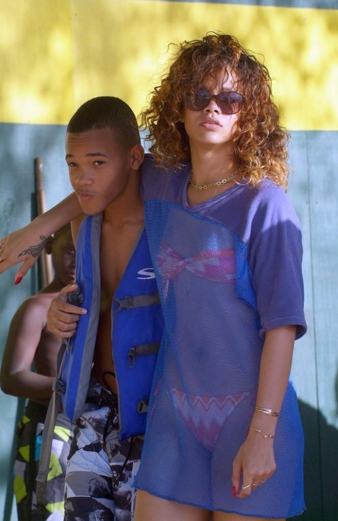 Rihanna, toujours aussi sexy !