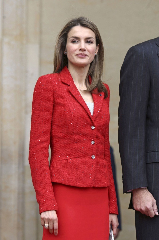 Tailleur 100% rouge !