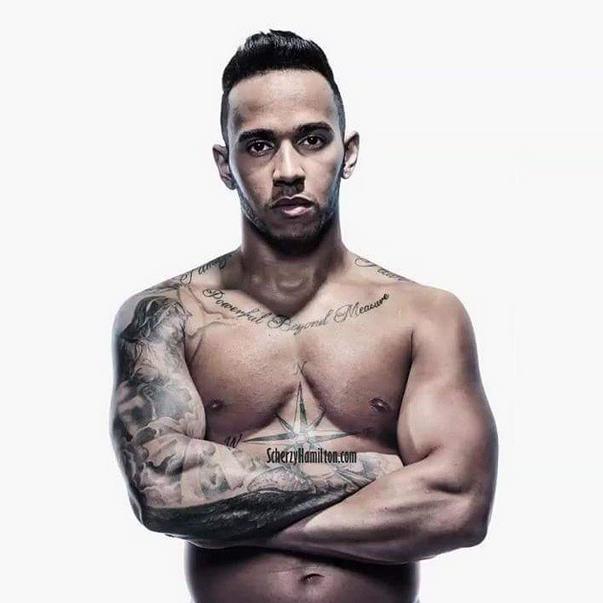 Photos : Lewis Hamilton, sexy boy pour Men's Health !