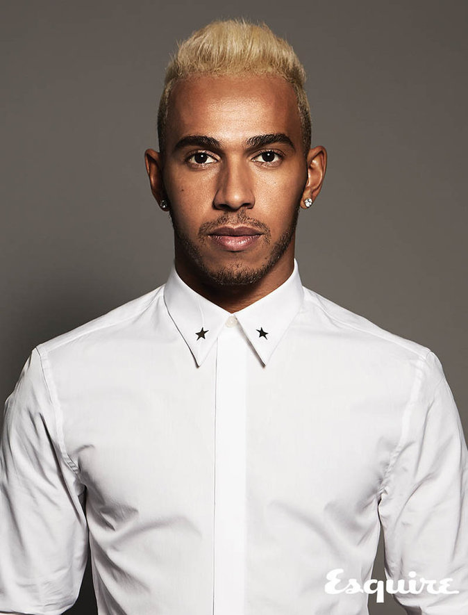 Lewis Hamilton : triple champion du monde et icône fashion pour Esquire !