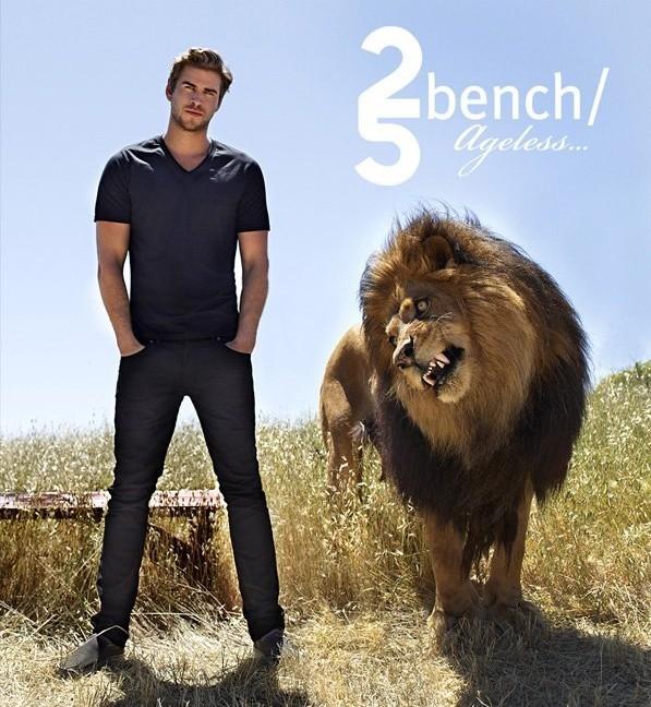 Liam Hemsworth égérie Bench !