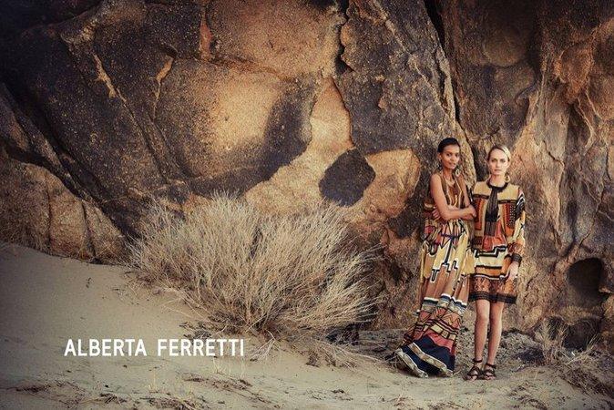 Liya Kebede et Amber Valletta