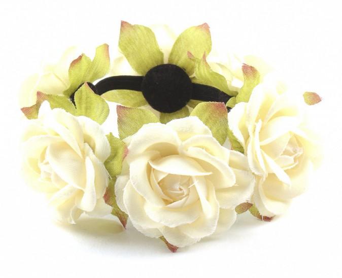 Bracelet à fleurs, Mim 3,99€