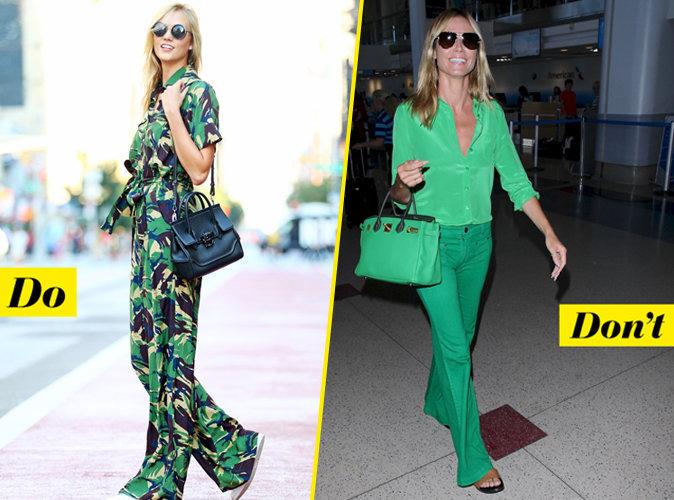 La tenue verte