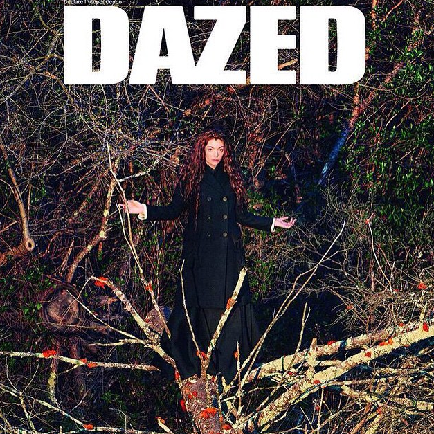 Lorde pour Dazed Magazine