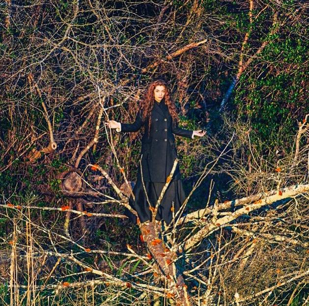 "Lorde se la joue ""nature"""