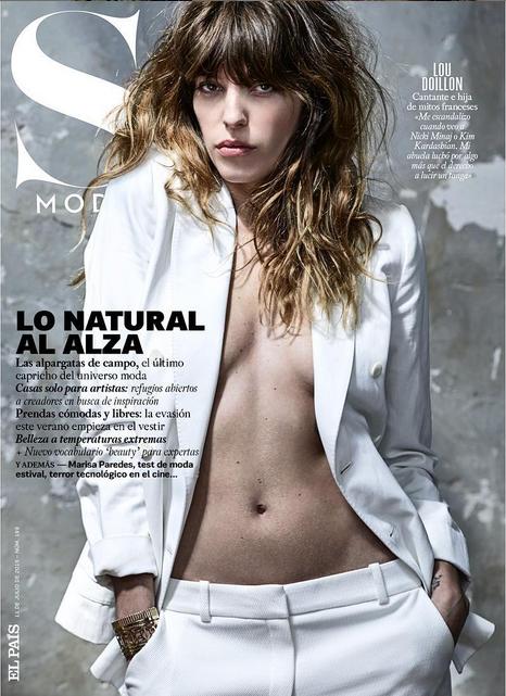 Lou Doillon pour S Moda magazine