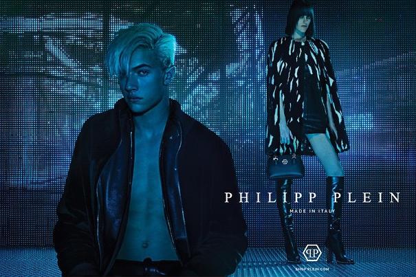 Lucky Blue Smith pour Philipp Plein