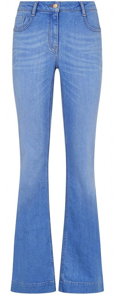Mode by malika ménard : Jean flare, New Look 29,99€