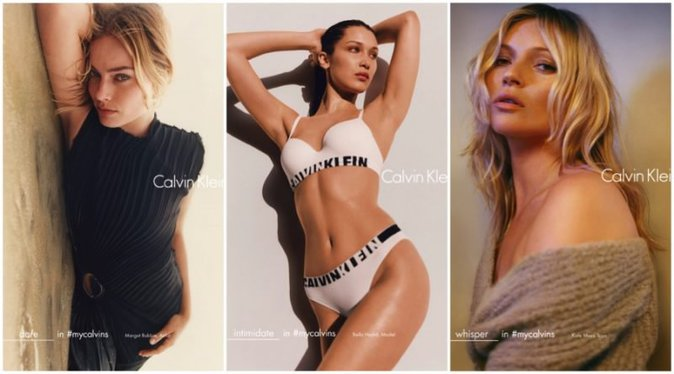 Photos : Margot Robbie, Bella Hadid, Kate Moss... Réunion de bombes chez Calvin Klein !