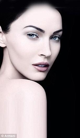 Megan Fox pour Armani Beauty...