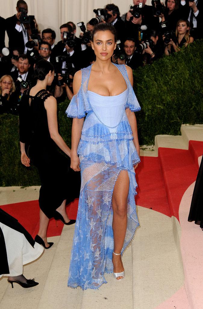 Irina Shayk en Givenchy Haute Couture