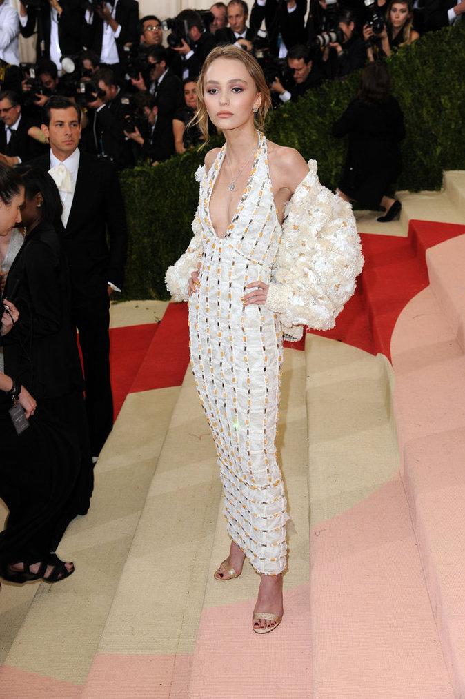 Lily Rose Depp en Chanel