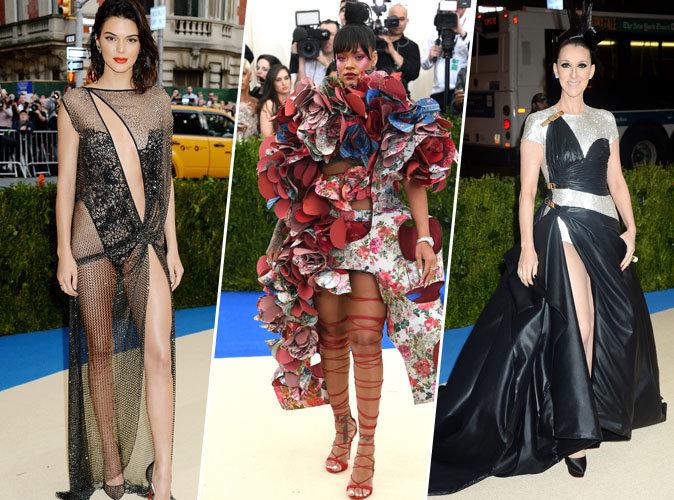 MET GALA 2017 : Kendall Jenner, Rihanna, Céline Dion... tous les pires looks de la cérémonie !