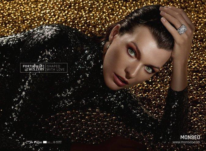Photos : Milla Jovovich : Chicissime pour les bijoux Portuguese Jewellery !