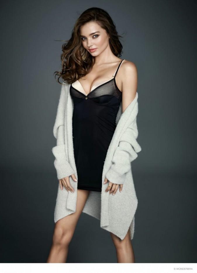 Photos : Miranda Kerr : découvrez sa nouvelle campagne sexy pour Wonderbra !