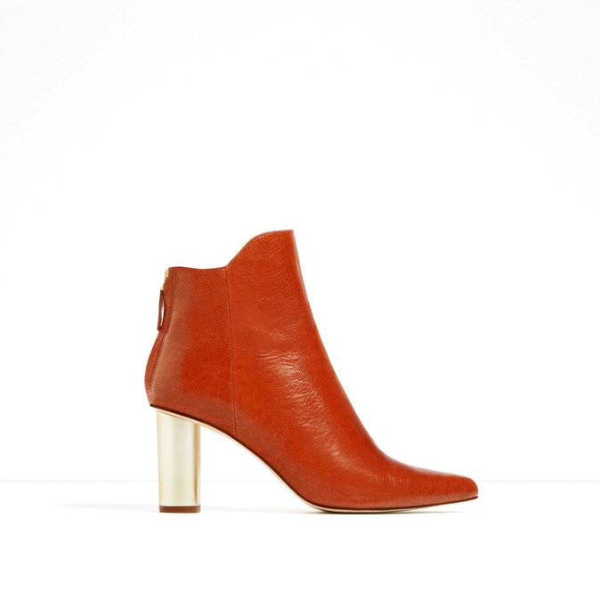 En cuir, Zara 79,95 €