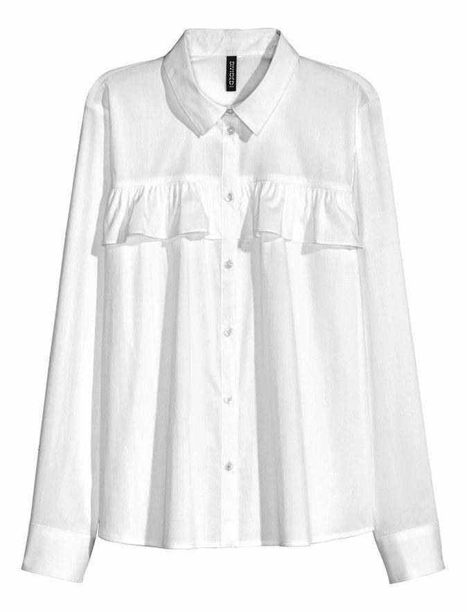 Chemise en coton, H&M 19,99 €