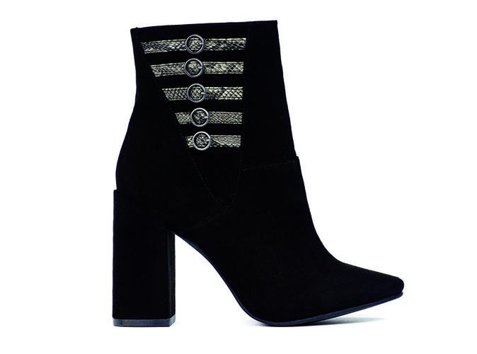 Boots façon cuir, Naf Naf 59,99€