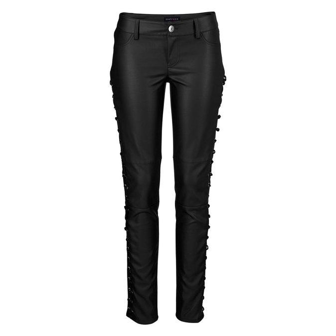 Pantalon façon cuir, 3 Suisses 69,99€