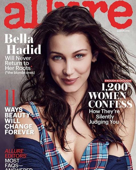 Photos : Naomi Campbell et Bella Hadid : sublimes pour le 25e anniversaire du magazine Allure