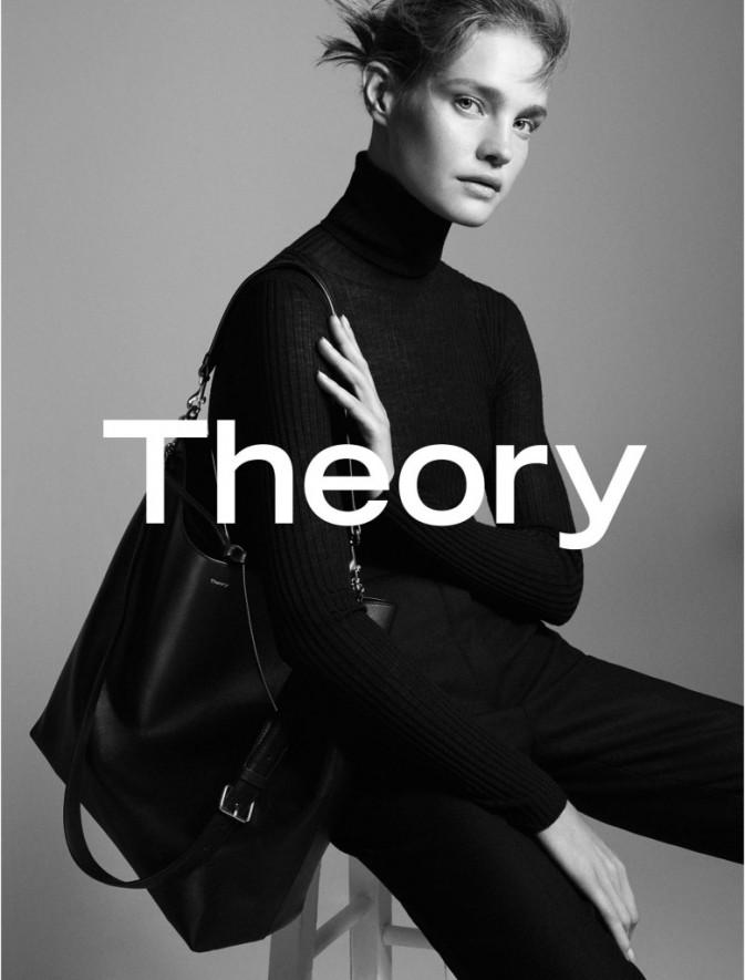 Photos : Natalia Vodianova : de nouveau égérie pour Theory !