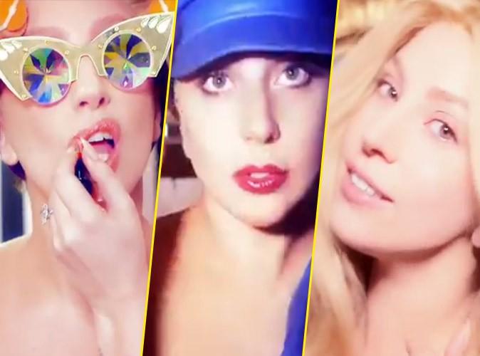 Photos : naturelle, excentrique ou girly, Lady Gaga joue les caméléons pour Shiseido !