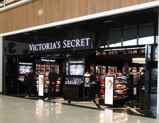 Une boutique Victoria's Secret a été ouvert à Paris Orly